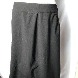Banana Republic Essential Black A Line Skirt 12